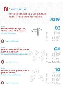 AgileThinking: Agilität ist ... Kalender