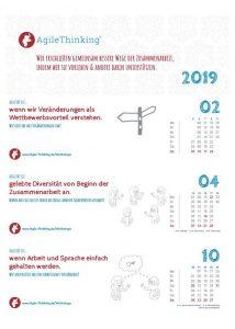 Download: Agilität ist... Kalender 2019