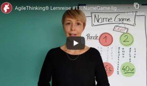 AgileThinking® Lernreise #11: NameGame-Light mit Isa Triesch